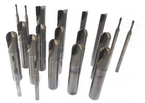 range of PCD end mills
