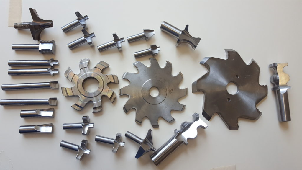 selection of Bespoke tooling bodies