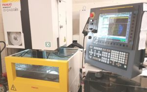 New Fanuc machine for cutting PCD and TCT