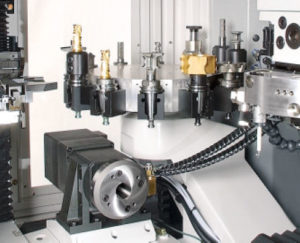 PCD Tooling loaded onto a Vollmer Machine