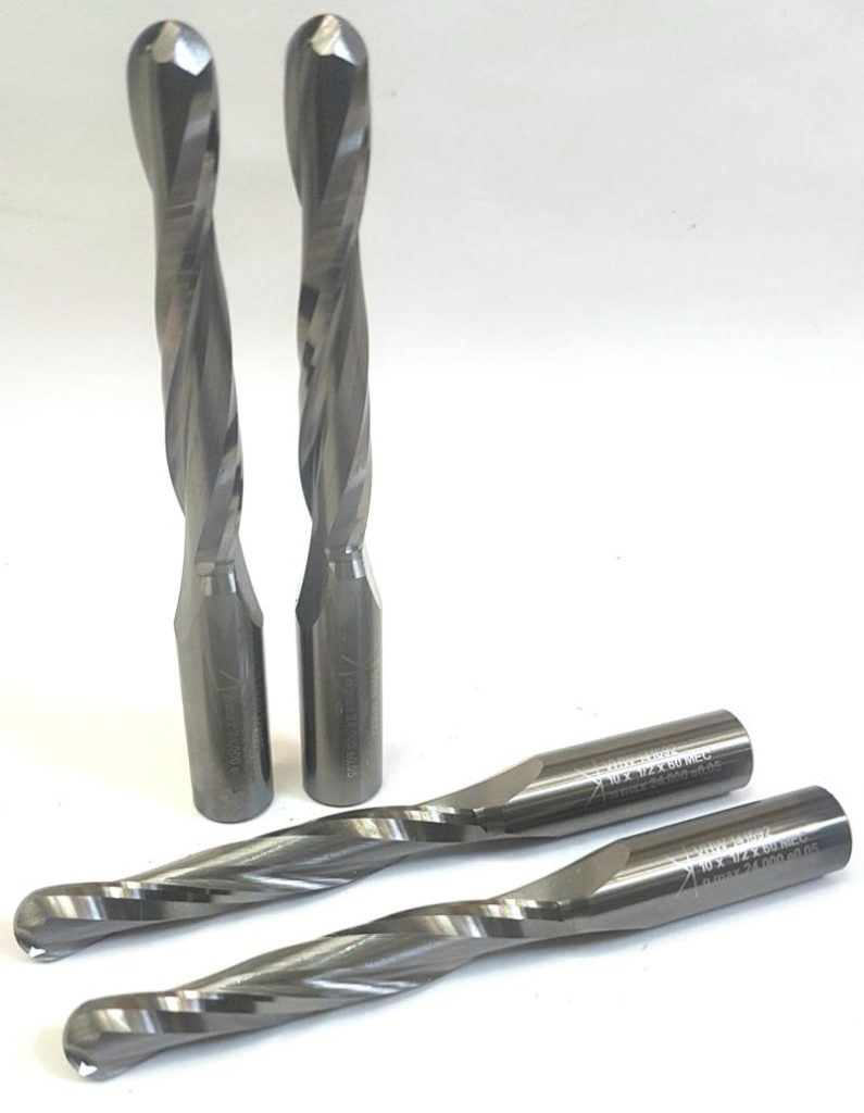 Solid Carbide Ball nose finisher